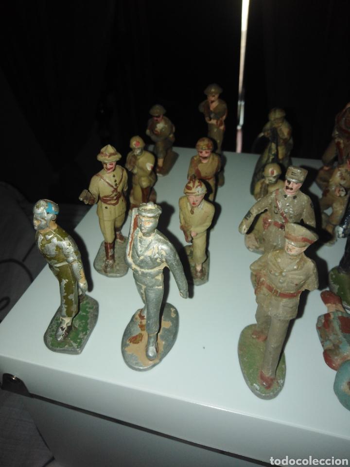 Juguetes Antiguos: Lote soldados años 40. - Foto 5 - 167544934