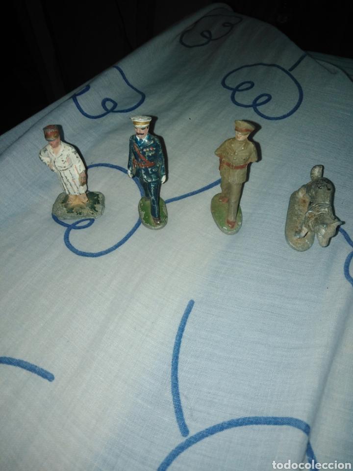 Juguetes Antiguos: Lote soldados años 40. - Foto 9 - 167544934