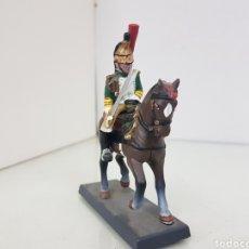 Juguetes Antiguos: SOLDADO A CABALLO IMPERIAL DE LA GUARDIA DE LOS DRAGONES FRANCESES DE PLOMO DEA BY CASSANDRA. Lote 168689682