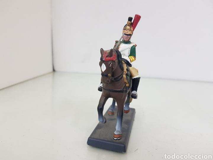 Juguetes Antiguos: Soldado a caballo imperial de la guardia de los dragones franceses de plomo dea by Cassandra - Foto 4 - 168689682