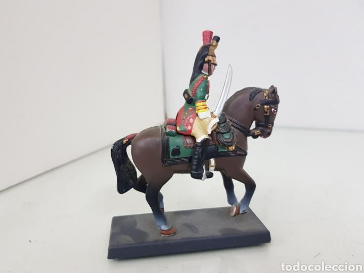 Juguetes Antiguos: Soldado a caballo imperial de la guardia de los dragones franceses de plomo dea by Cassandra - Foto 3 - 168689682
