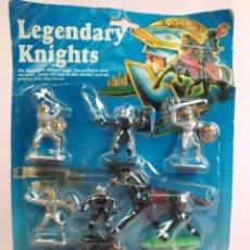 Juguetes Antiguos: LEGENDARY KNIGHTS . FIGURAS DE SIMBA. Lote 170262949