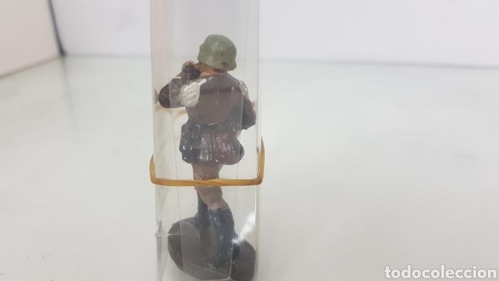 Juguetes Antiguos: Militar soldado músico Elastolin - Foto 3 - 171985315