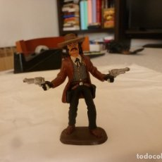 Juguetes Antiguos: WILD BILL HICKOK FIGURE PAINTED ( 60 MM).. Lote 172809209