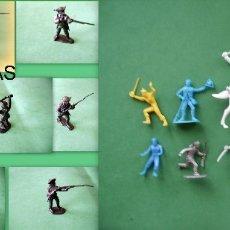 Juguetes Antiguos: FIGURAS Y SOLDADITOS DE 6 - CTMS -9898. Lote 173831744