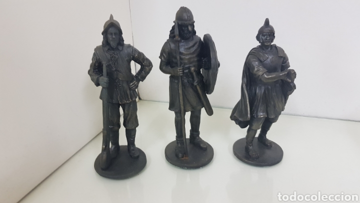 Juguetes Antiguos: Figuras de gran tamaño 18 cm fabricadas en resina hueca - Foto 2 - 175202084