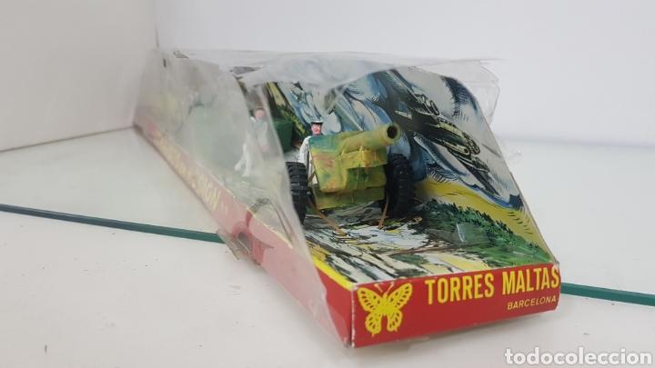 Juguetes Antiguos: Comandos en acción juguetes fabricados en España de plástico torres maltas medida de la caja 56x9cms - Foto 4 - 178009275