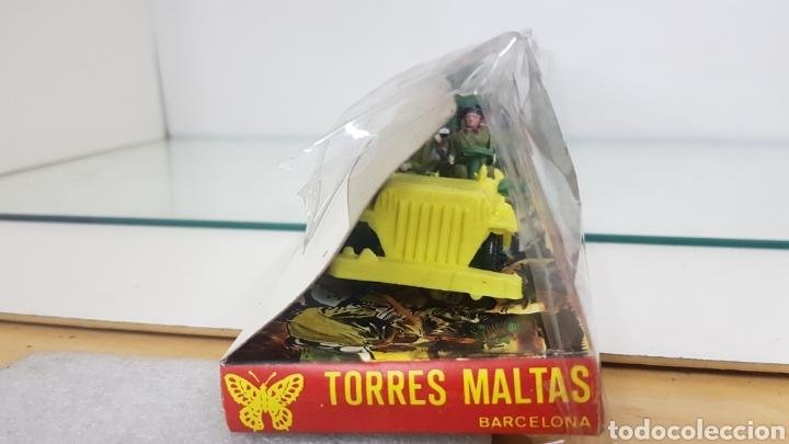 Juguetes Antiguos: Comandos en acción juguetes fabricados en España de plástico torres maltas medida de la caja 56x9cms - Foto 5 - 178009275