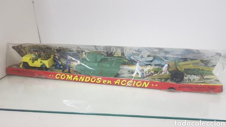 COMANDOS EN ACCIÓN JUGUETES FABRICADOS EN ESPAÑA DE PLÁSTICO TORRES MALTAS MEDIDA DE LA CAJA 56X9CMS (Juguetes - Soldaditos - Otros soldaditos)