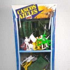 Juguetes Antiguos: SOLDADOS CASCOS AZULES NOVOLINEA. Lote 179172307
