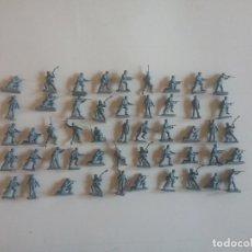 Juguetes Antiguos: AIRFIX ORIGINAL HO-1/72: 50 SOLDADOS ALEMANES PARACAIDISTAS DE LA WWII. REF. 01753 AÑOS 70.PTOY. Lote 179529203