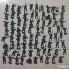 Juguetes Antiguos: ESCI 1/72 ORIGINAL AÑOS 70/80: 79 SOLDADOS ALEMANES DE LA WWII REF. 201 GERMAN SOLDIERS. PTOY. Lote 179552697