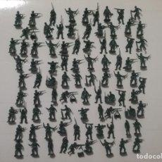 Juguetes Antiguos: ESCI 1/72 ORIGINAL AÑOS 70/80: 87 SOLDADOS ALEMANES DE LA WWII REF. 201 GERMAN SOLDIERS. PTOY. Lote 179556657