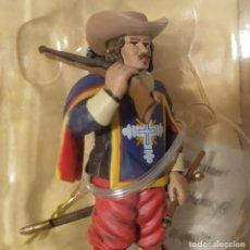 Juguetes Antiguos: SOLDADO. FIGURA DE MOSQUETERO. METAL. Lote 181698346