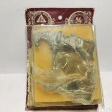 Juguetes Antiguos: EKO SOLDADO PLOMO CABALLERIA FRANCIA 1810 TROMPETA E. 54 MM. Lote 186235437