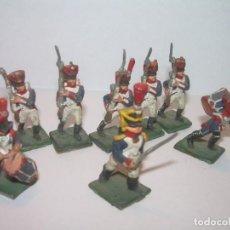 Juguetes Antiguos: MINUSCULOS SOLDADITOS DE PLOMO..PERFECTAMENTE DECORADOS.. Lote 186732313
