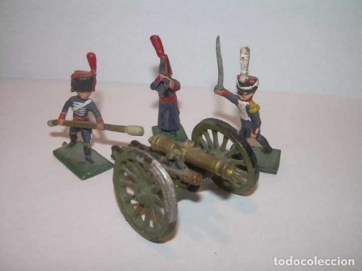 Juguetes Antiguos: MINUSCULOS SOLDADITOS DE PLOMO..PERFECTAMENTE DECORADOS. - Foto 2 - 186734783