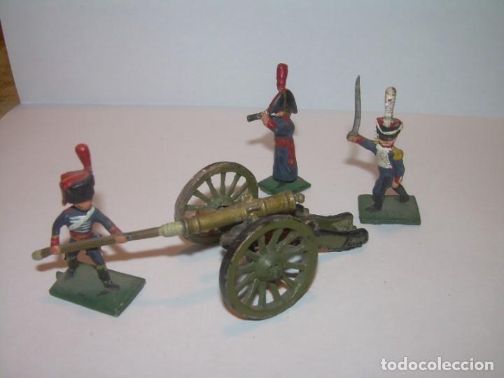 Juguetes Antiguos: MINUSCULOS SOLDADITOS DE PLOMO..PERFECTAMENTE DECORADOS. - Foto 3 - 186734783