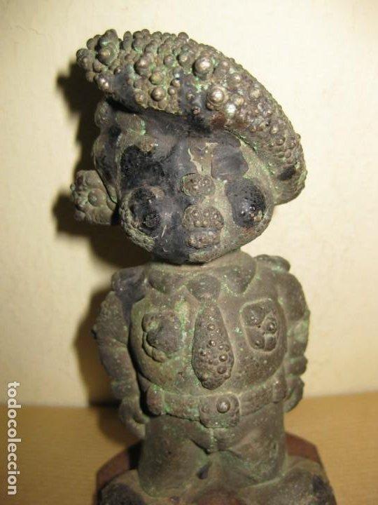 Juguetes Antiguos: curiosa figura de soldado niño . molde hierro fundido para muñeca 13/5cm- años 20-30 ? - Foto 6 - 189445703