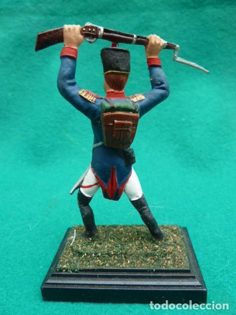 Juguetes Antiguos: Soldado napoleonico. Juguetes Puchol. Caja original. Barcelona. años 80 pintados a mano - Foto 2 - 193192415