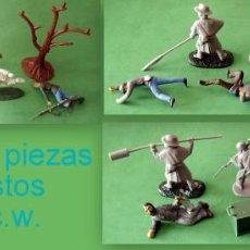 Juguetes Antiguos: FIGURAS Y SOLDADITOS PARA 6 CTMS - 11125. Lote 194188621