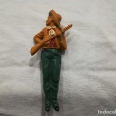 Juguetes Antiguos: VAQUERO DE GAMA EN GOMA. Lote 194353485