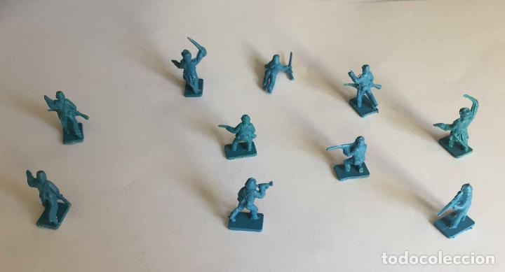 Juguetes Antiguos: Lote 10 SOLDADITOS (Guerra Civil Norteamericana) 70's ¡Originales! - Foto 3 - 149703730
