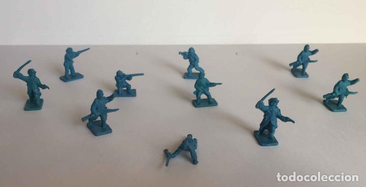 Juguetes Antiguos: Lote 10 SOLDADITOS (Guerra Civil Norteamericana) 70's ¡Originales! - Foto 5 - 149703730