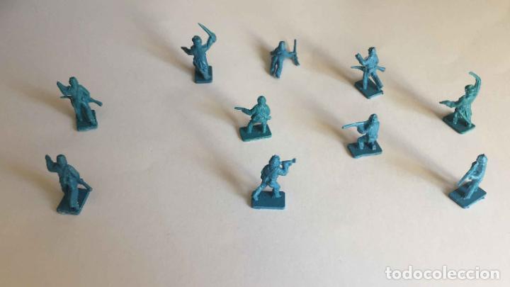 Juguetes Antiguos: Lote 10 SOLDADITOS (Guerra Civil Norteamericana) 70's ¡Originales! - Foto 6 - 149703730