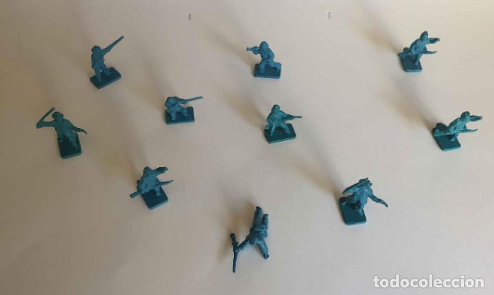 Juguetes Antiguos: Lote 10 SOLDADITOS (Guerra Civil Norteamericana) 70's ¡Originales! - Foto 7 - 149703730