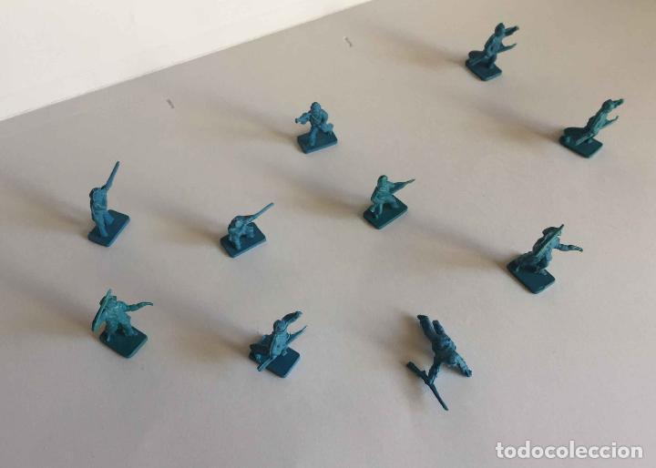 Juguetes Antiguos: Lote 10 SOLDADITOS (Guerra Civil Norteamericana) 70's ¡Originales! - Foto 8 - 149703730