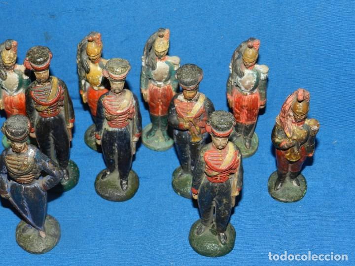 Juguetes Antiguos: (M) LOTE DE 20 SOLDADOS ANTIGUOS DE TERRACOTA MARCA DUMERIL H LEURS A ST OMER - Foto 7 - 195171590