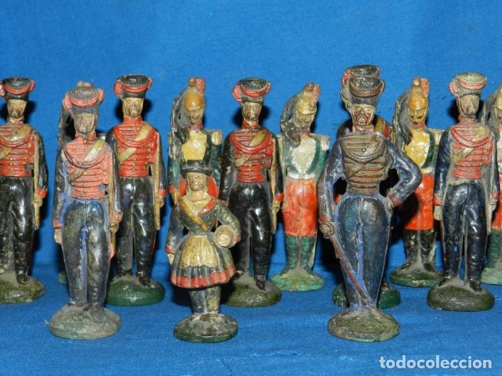 Juguetes Antiguos: (M) LOTE DE 20 SOLDADOS ANTIGUOS DE TERRACOTA MARCA DUMERIL H LEURS A ST OMER - Foto 8 - 195171590