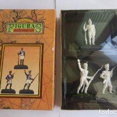 Juguetes Antiguos: JUGUETES PUCHOL. BARCELONA..FIGURAS HISTORICAS NAPOLEONICAS, PARA PINTAR...PRECINTADAS..AÑOS 80-90. Lote 196380922