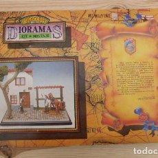 Juguetes Antiguos: GRAN DIORAMA, MOSQUETEROS DEL REY..JUGUETES PUCHOL, PARA MONTAR Y PINTAR. AÑOS 80, PRECINTADO.. Lote 196382098