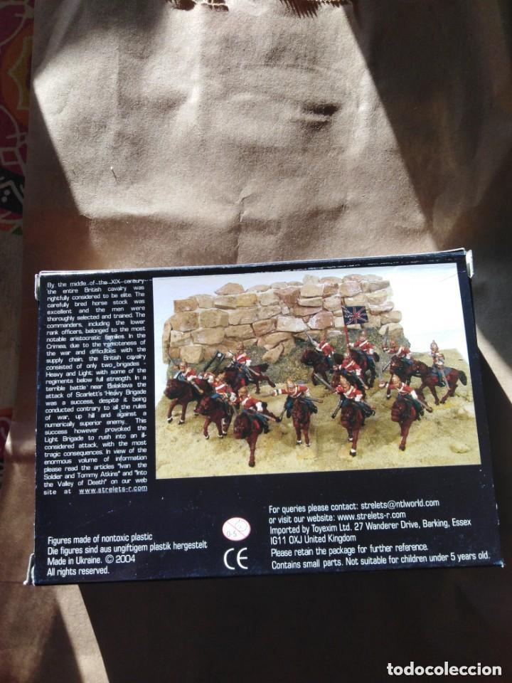 Juguetes Antiguos: British Heavy Dragoons -plastico - Foto 2 - 197275606