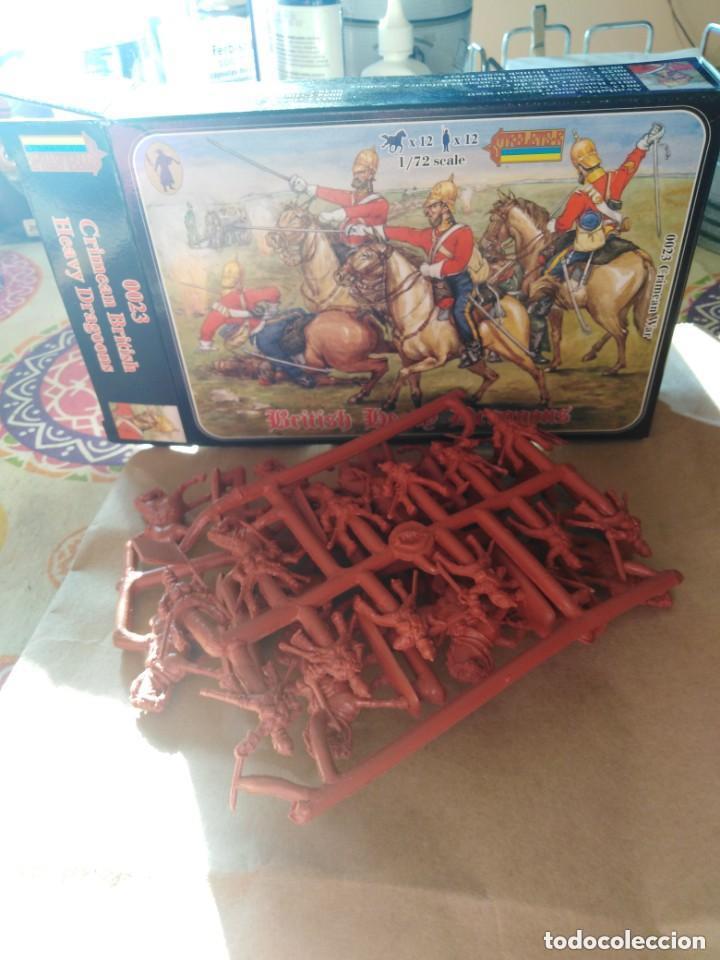 Juguetes Antiguos: British Heavy Dragoons -plastico - Foto 4 - 197275606