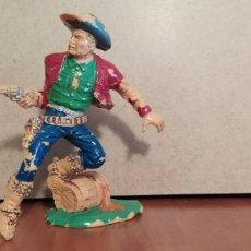 Juguetes Antiguos: LAFREDO FIGURAS OESTE 10 CM. Lote 200031686