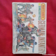 Juguetes Antiguos: MATCHBOX 1-76 GERMAN INFANTRY INFANTERIA ALEMANA 48 PIEZAS DE 50. Lote 203041433