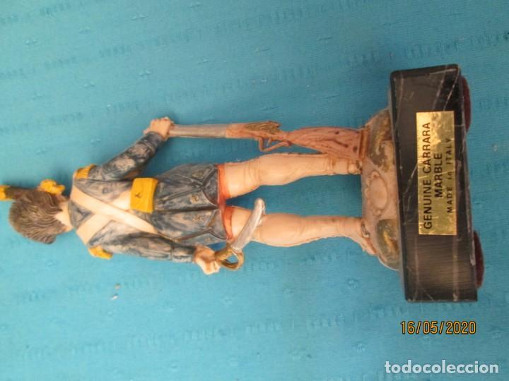 Juguetes Antiguos: SOLDADO FUSILERO EN RESINA - Foto 3 - 204386977
