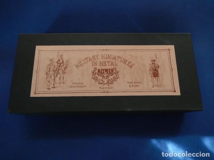 Juguetes Antiguos: Soldados. Alymer. Fabricados en España. British 24 th Foot Regt. En su caja. - Foto 2 - 204802653