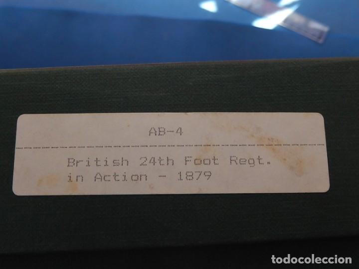 Juguetes Antiguos: Soldados. Alymer. Fabricados en España. British 24 th Foot Regt. En su caja. - Foto 3 - 204802653