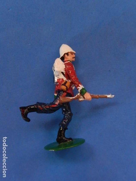 Juguetes Antiguos: Soldados. Alymer. Fabricados en España. British 24 th Foot Regt. En su caja. - Foto 4 - 204802653