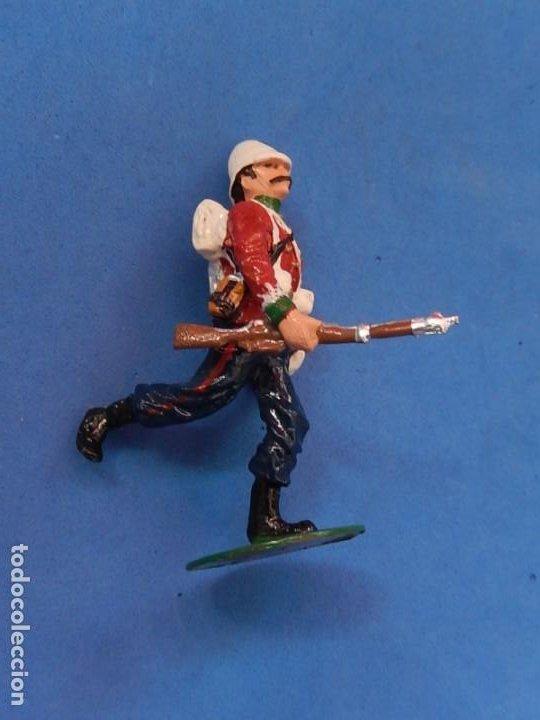 Juguetes Antiguos: Soldados. Alymer. Fabricados en España. British 24 th Foot Regt. En su caja. - Foto 6 - 204802653