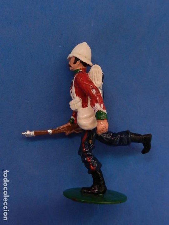 Juguetes Antiguos: Soldados. Alymer. Fabricados en España. British 24 th Foot Regt. En su caja. - Foto 7 - 204802653