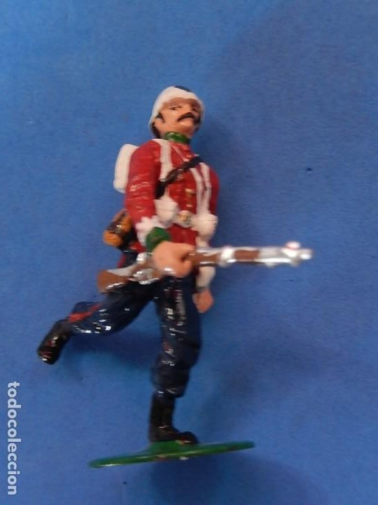 Juguetes Antiguos: Soldados. Alymer. Fabricados en España. British 24 th Foot Regt. En su caja. - Foto 8 - 204802653