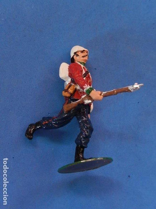 Juguetes Antiguos: Soldados. Alymer. Fabricados en España. British 24 th Foot Regt. En su caja. - Foto 10 - 204802653