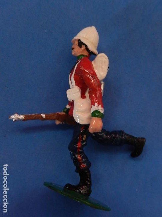 Juguetes Antiguos: Soldados. Alymer. Fabricados en España. British 24 th Foot Regt. En su caja. - Foto 13 - 204802653