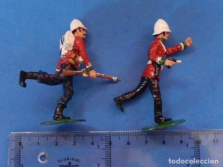 Juguetes Antiguos: Soldados. Alymer. Fabricados en España. British 24 th Foot Regt. En su caja. - Foto 16 - 204802653