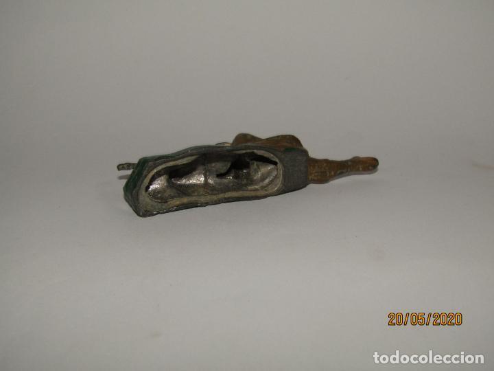 Juguetes Antiguos: Antiguo Soldado Frances con Fusil 1ª Guerra Mundial en Metal Inyectado - Foto 3 - 205527898